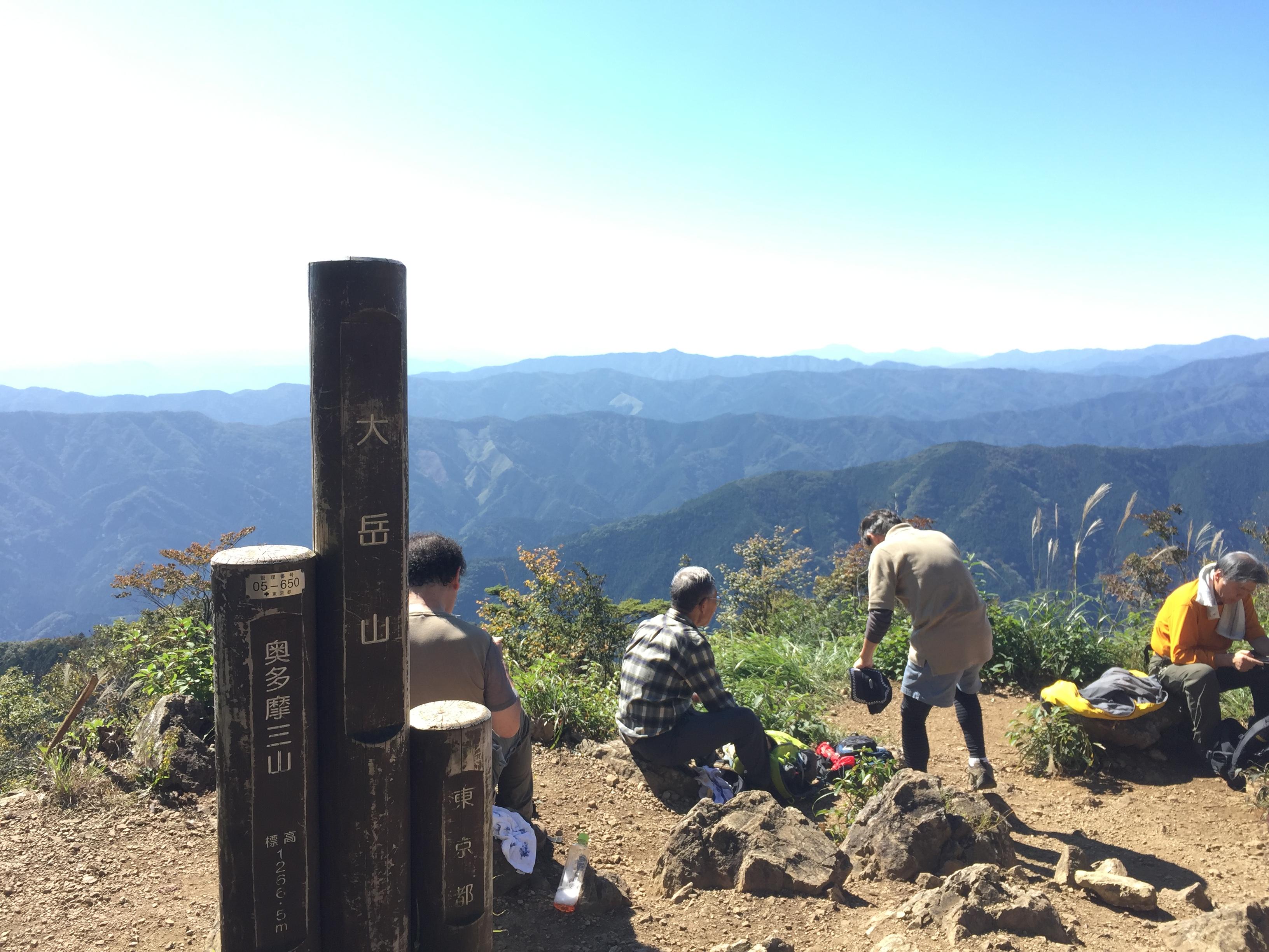 滝本駅から御岳山、大岳山へ