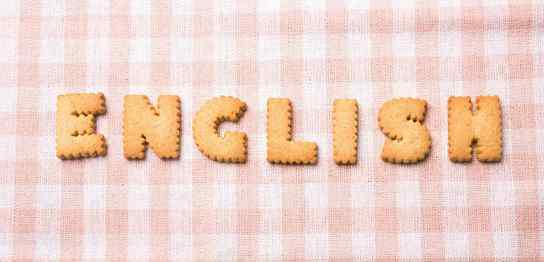 「ENGLISH」という文字