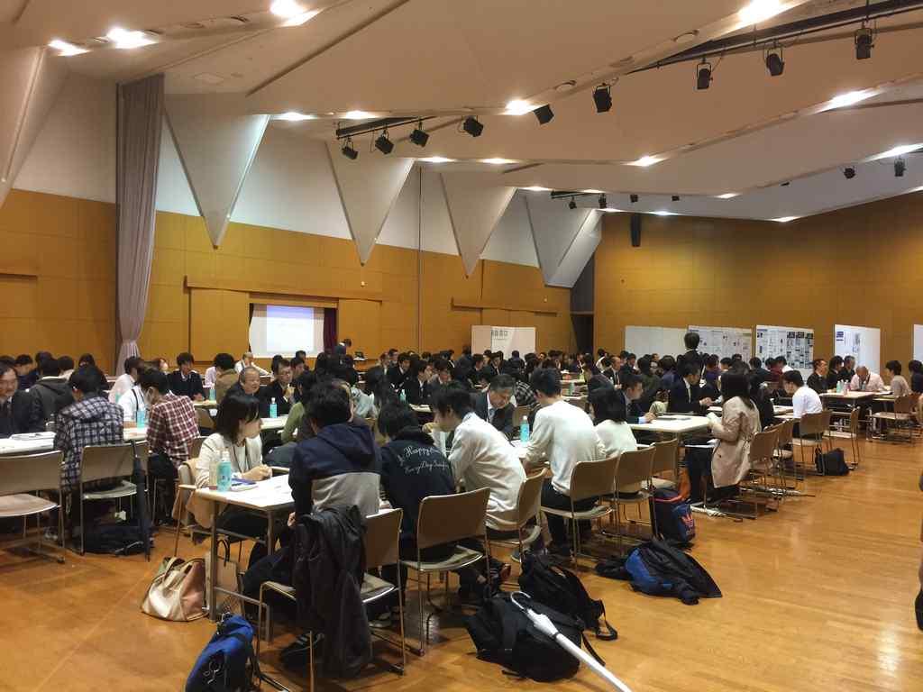 神大テクノフェスタ2016の企業交流会