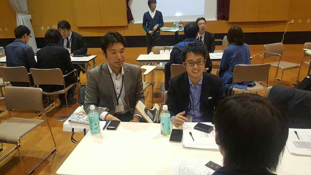 企業交流会での日本アルテックブース