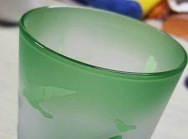 【体験してきました】サンドブラスト技法のガラスアート