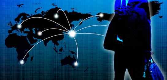 グローバルに活躍するビジネスマンのイメージ