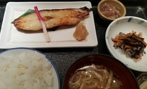 魚久あじみせの定食
