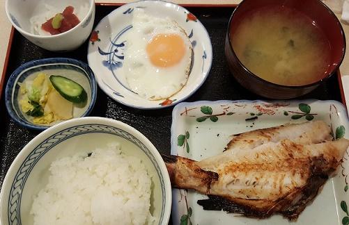「梢」の焼き魚定食