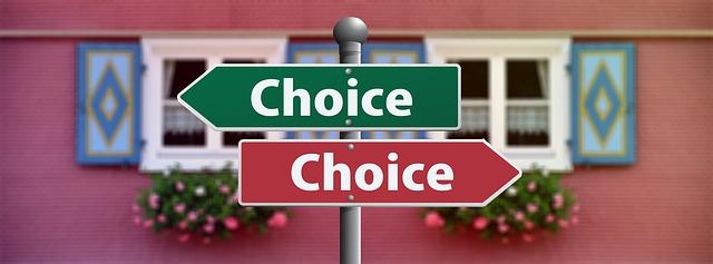 choiceの看板