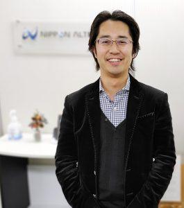 日本アルテック株式会社 代表取締役 相澤庸介