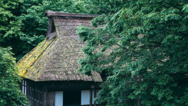 森の中の古民家